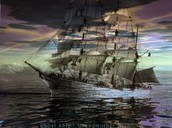 Different types of ghost ships