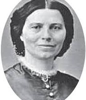 Portrait of Clara Barton (1821-1912)