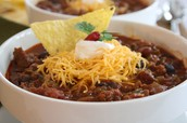 Please bring your chili or other slow cooker entree