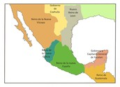 First political division of mexican republic