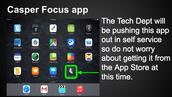 Tech Tidbit: Casper Focus