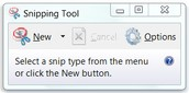 Partial screenshots on Laptop