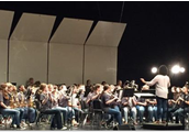 HTMS Band in Concert in Pigeon Forge
