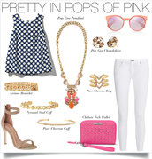 Pretty in Pops of Pink