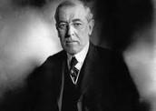 Wilson During Presidency