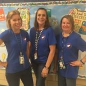 Mrs. Bumgardner, Mrs. Fry, and Mrs. Houy