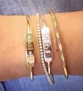 Engravable Cuff Bracelets $98