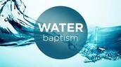 Baptism this Sunday
