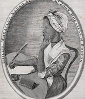 Drawing of Phillis Wheatley