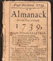 """""""Poor Richard's Almanac""""."""