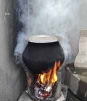 It looks like a witch stove but they are burning harmful fuels