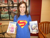Ms. Bryant is a SUPER reader!