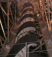 Statue of Liberty Torch Stairs