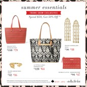 July Trunk Show Exclusives