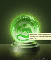 green viper dragon