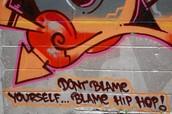 graffiti made for social awarness