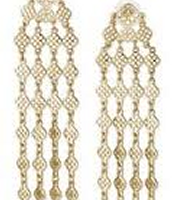 Devon Chandelier Earrings - Gold