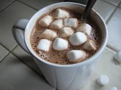 WELCOME BACK HOT COCOA, JANUARY 7, 2016 - 2:30 p.m., MS CAFETERIA