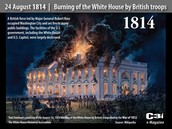 The burning of the white houses