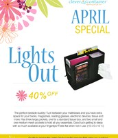 April Customer Special