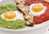Huevos Divorciados (divorced eggs)