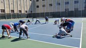 Warm Up Exercises in Tennis