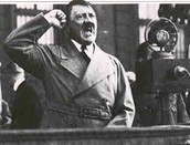 Hitler at a dictation