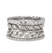 Laurel ring - size 8