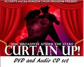 """Curtain Up"" Broadway DVD & CD"