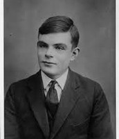 A Picture of Alan Turing