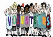 Volunteers Needed for the Following Events