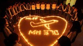 hearts for MH 370