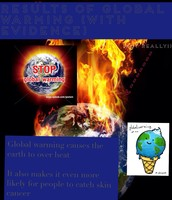 Results of Global Warming Page