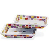 Small Tile Plates £4.50 (rrp £7.50)