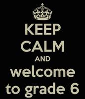 2016-2017 6th Grade Parent Orientation Meeting