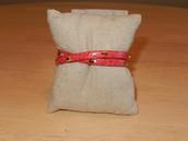 Hudson Leather Wrap Bracelet