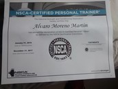 Entrenadores certificados