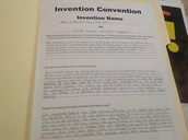 Invention Convention Problem
