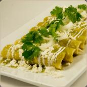 Enchiladas Verdes (trescientos nueve 309 pesos) {LUNCH}