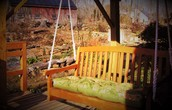 Enjoy the Porch Swing on the Deck