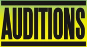 Auditions NEXT Thurs, Fri, Sat