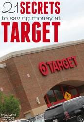 Target Money Saving Tips