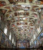 The Sistine Chapel.