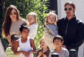 Angelina and her family
