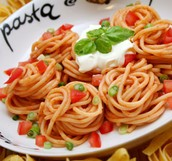 Italian spaghetti.