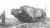 A tank from the war