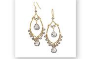 Juliette Gem Drop Earrings - $30 (Retired)