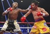 Mayweather vs Pacquiao Fight, Mayweather wins