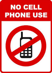 OLQHS is a Cell Phone Free Zone