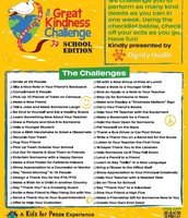Great Kindness Challenge Activities!